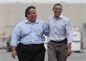 Christie & Obama